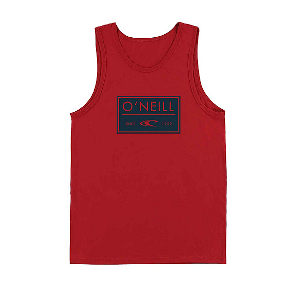 O'Neill Case Mens Tank Top, Red, 600