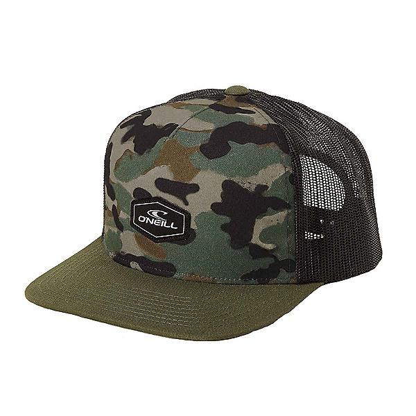 O'Neill Rockaway Trucker Hat, Camo, 600