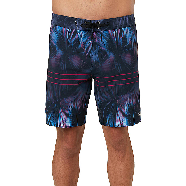 O'Neill Superfreak Hallucination Mens Board Shorts 2019, Navy, 600