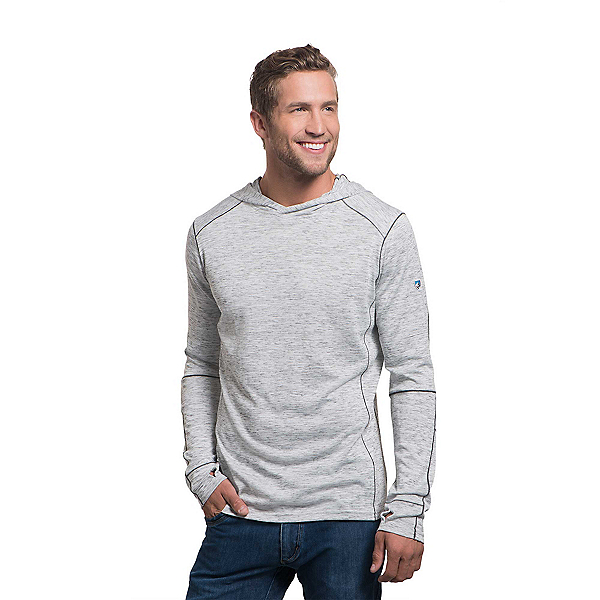 KUHL Alloy Mens Hoodie, Cloud Gray, 600