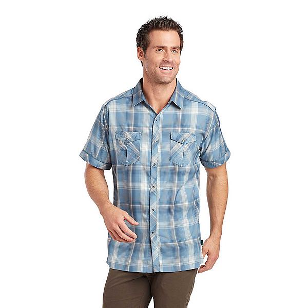 KUHL Konquer SS Mens Shirt, Slate Blue, 600