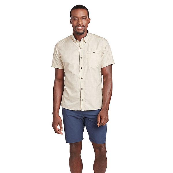 KUHL Krossfire SS Mens Shirt, Light Khaki, 600