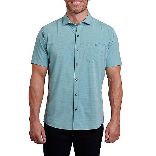 KUHL Optimizr SS Mens Shirt, Polar Blue, 600