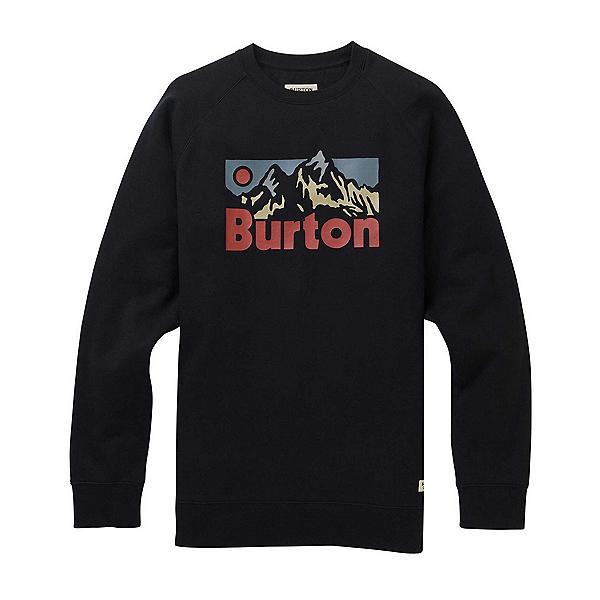 Burton Vista Crew Mens Hoodie, True Black, 600