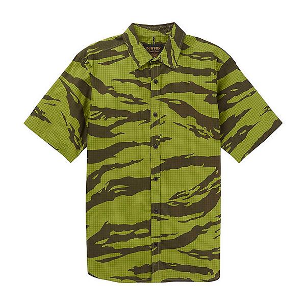 Burton Shabooya Camp Mens Shirt, Keef Tiger Ripstop, 600