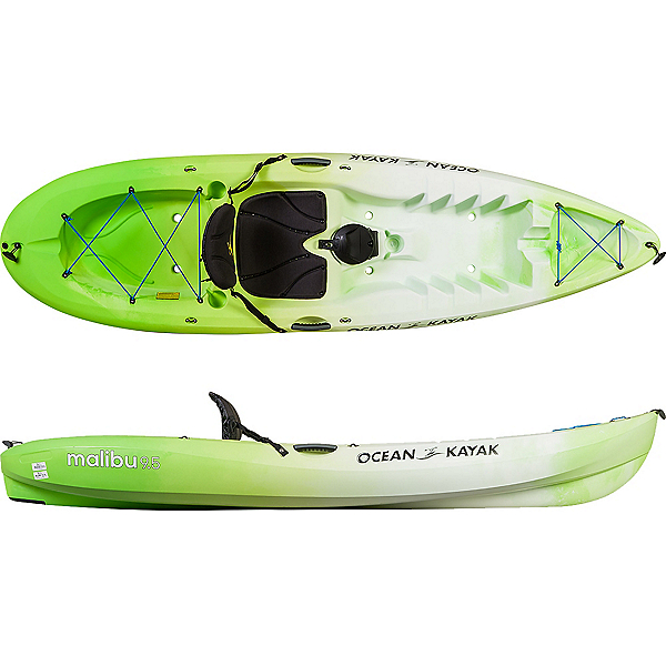 Ocean Kayak Malibu 9'5 Sit On Top Kayak 2019, Envy, 600