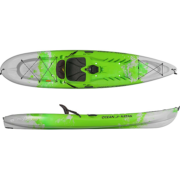 Ocean Kayak Malibu 11'6 Sit On Top Kayak 2019, Envy, 600