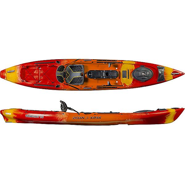 Ocean Kayak Trident 13'6 Angler Kayak 2019, Sunrise, 600