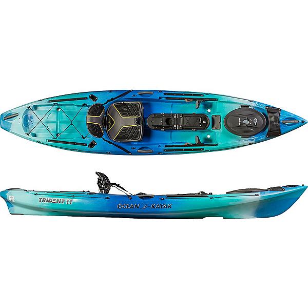 Ocean Kayak Trident 11'6 Angler Kayak 2019, Seaglass, 600