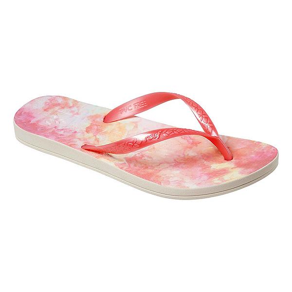 Reef Escape Lux + Print Womens Flip Flops, Sunset Dye, 600
