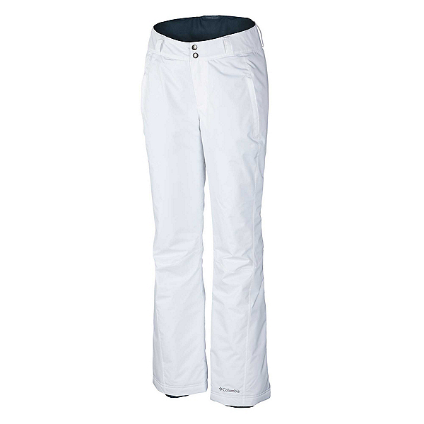 Columbia Modern Mountain Plus Womens Ski Pants, White, 600