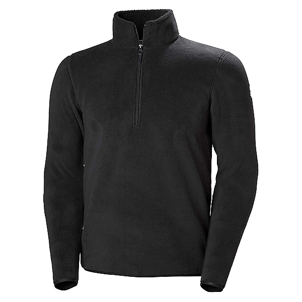 Helly Hansen Feather Pile 3/4 Zip Mens Mid Layer 2019, Ebony, 600