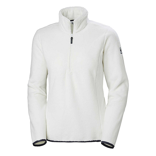 Helly Hansen Feather Pile 3/4 Zip Womens Mid Layer, Off White, 600