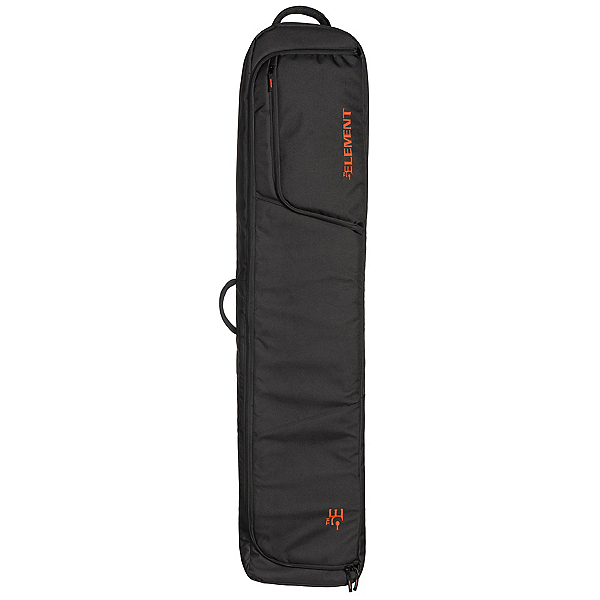 5th Element Bomber Double Wheeled Wheeled Snowboards Bag, Black-Red, 600