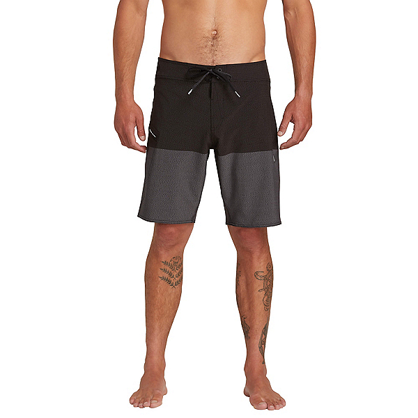 Volcom Lido Heather Mens Board Shorts, Black, 600