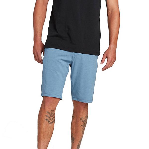Volcom Frickin Surf N Turf Static 2 Mens Hybrid Shorts, Blue Rinse, 600