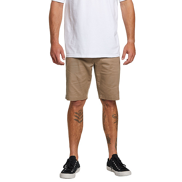 Volcom Frickin Modern Stretch Mens Shorts, Khaki, 600