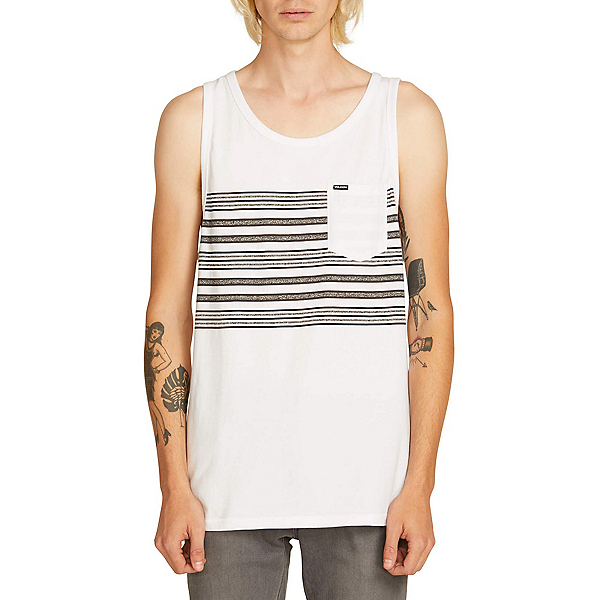 Volcom Forzee Tank Top, White, 600