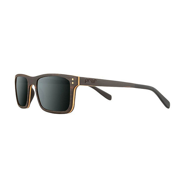 Proof Eyewear Boise Wood Polarized Sunglasses, , 600