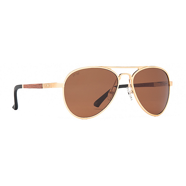 Proof Eyewear Eagle Polarized Sunglasses, Gold Brown Polarized, 600