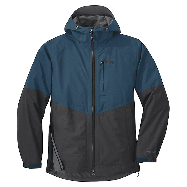 Outdoor Research Foray Mens Jacket, Peacock-Storm, 600