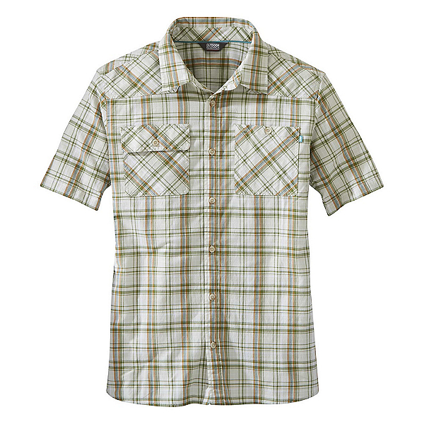 Outdoor Research Growler II Mens Shirt, Sand Plaid, 600