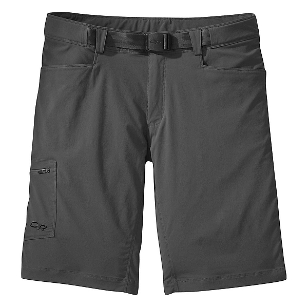 Outdoor Research Equinox Mens Hybrid Shorts 2019, Charcoal, 600