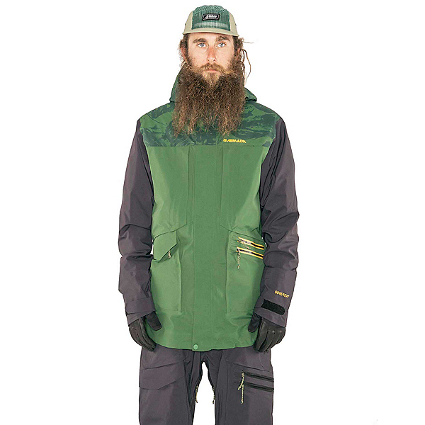 Armada Lifted GORE-TEX 3L Mens Insulated Ski Jacket, Forest Green Marble, 600