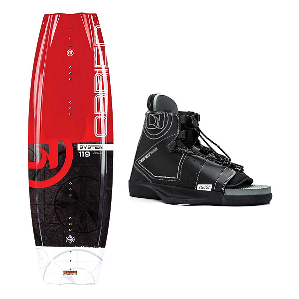 O'Brien System Wakeboard With Clutch Bindings 2019, 119cm, 600