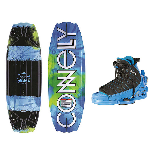 Connelly Charger Kids Wakeboard With Tyke Bindings, , 600