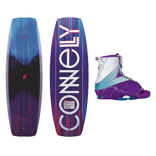 Connelly Wild Child Womens Wakeboard With Karma Bindings 2019, , 600