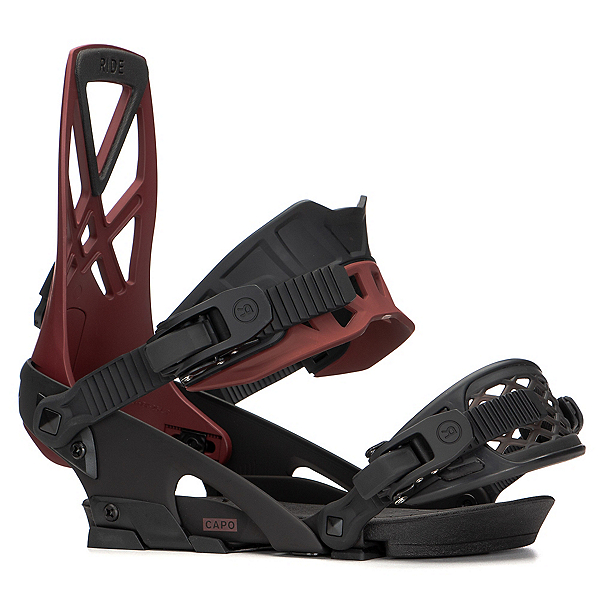 Ride Capo Snowboard Bindings 2020, Currant, 600