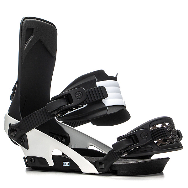 Ride LTD Snowboard Bindings 2020, Black-White, 600