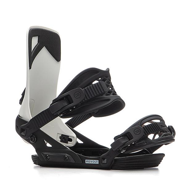 Ride Revolt Snowboard Bindings, Off White, 600