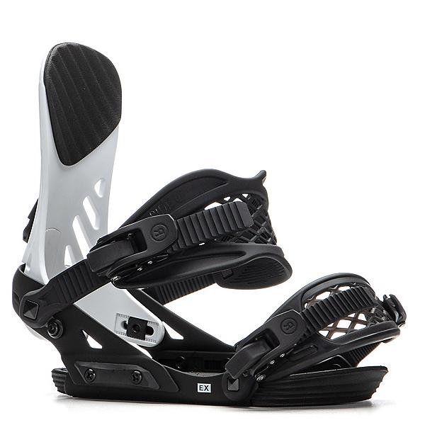 Ride EX Snowboard Bindings 2020, White, 600