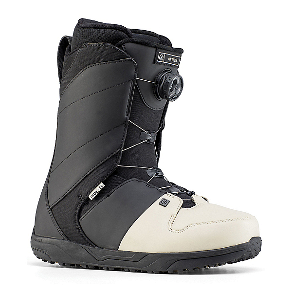 Ride Anthem Boa Coiler Snowboard Boots, Off White, 600