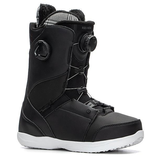 Ride Hera Boa Coiler Womens Snowboard Boots, Black, 600