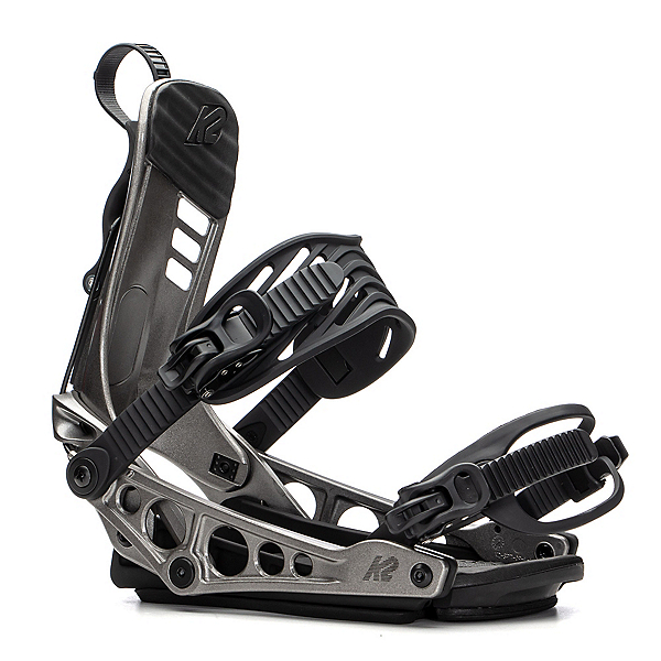 K2 Cinch TS Snowboard Bindings 2020, Gunmetal, 600