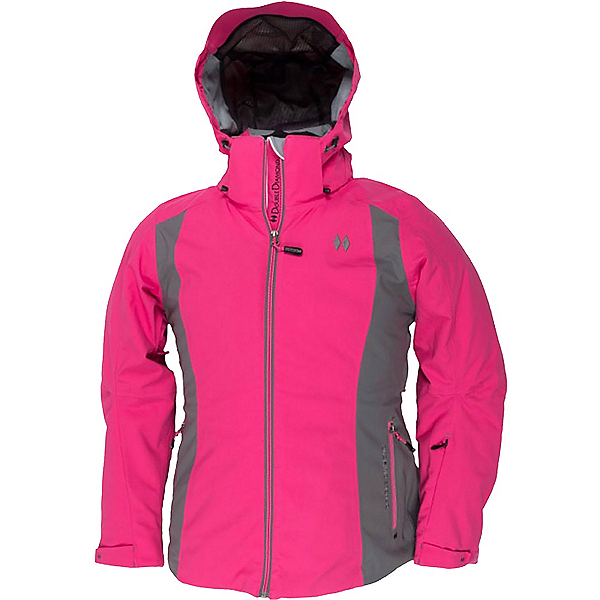 Double Diamond Fame Womens Insulated Ski Jacket, Magenta, 600