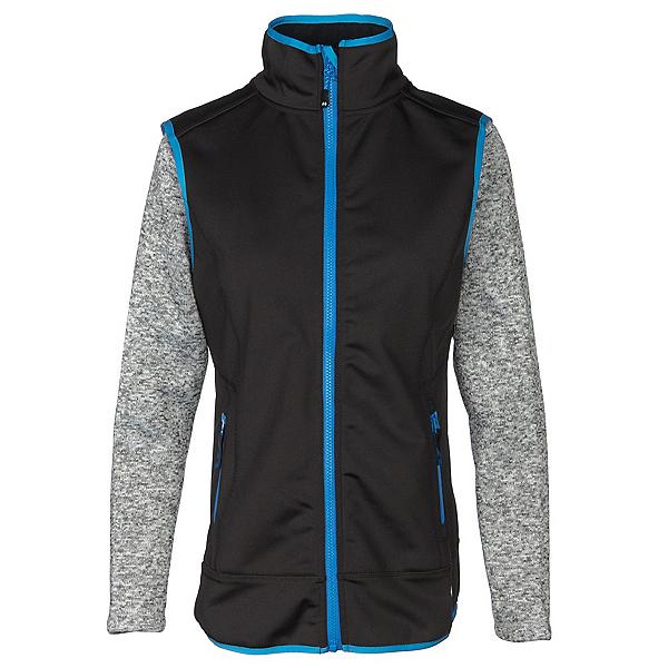 Double Diamond Valhalla Womens Vest, Black-Cosmo, 600