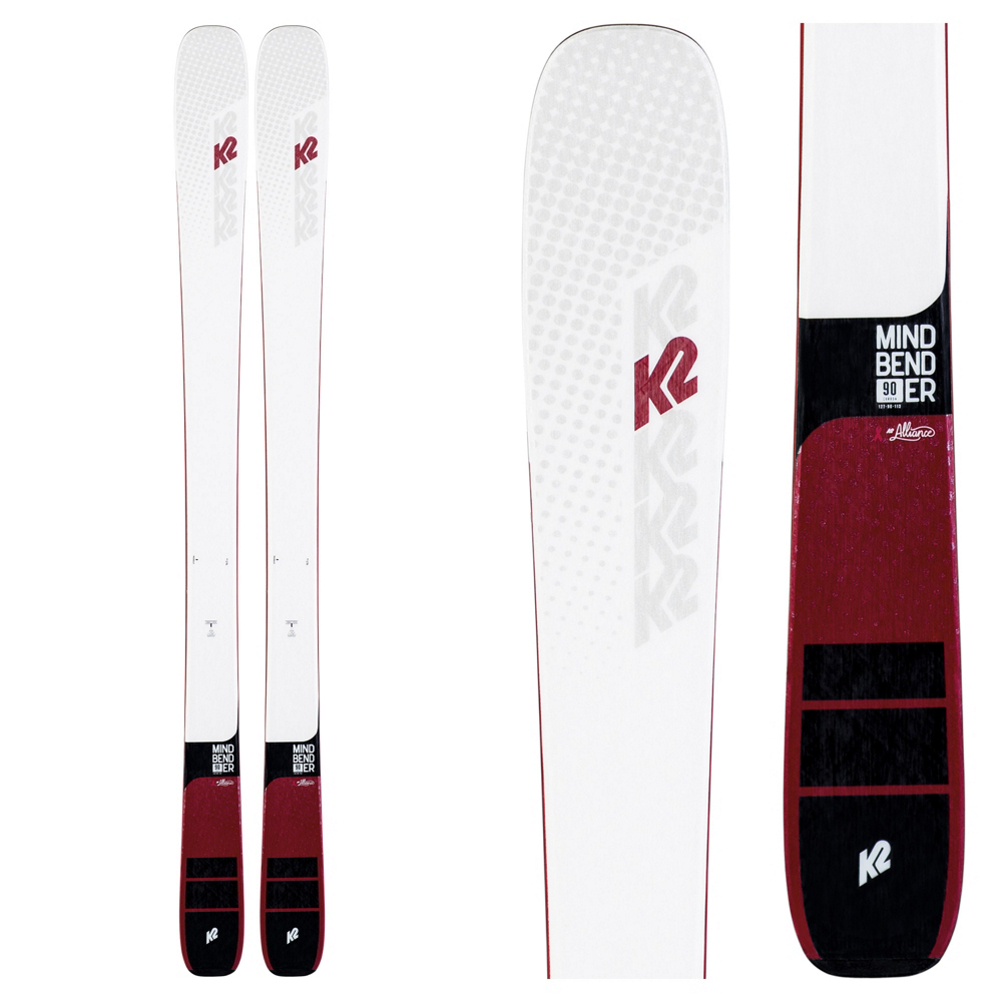 K2 Mindbender 90C Alliance Womens Skis 2020