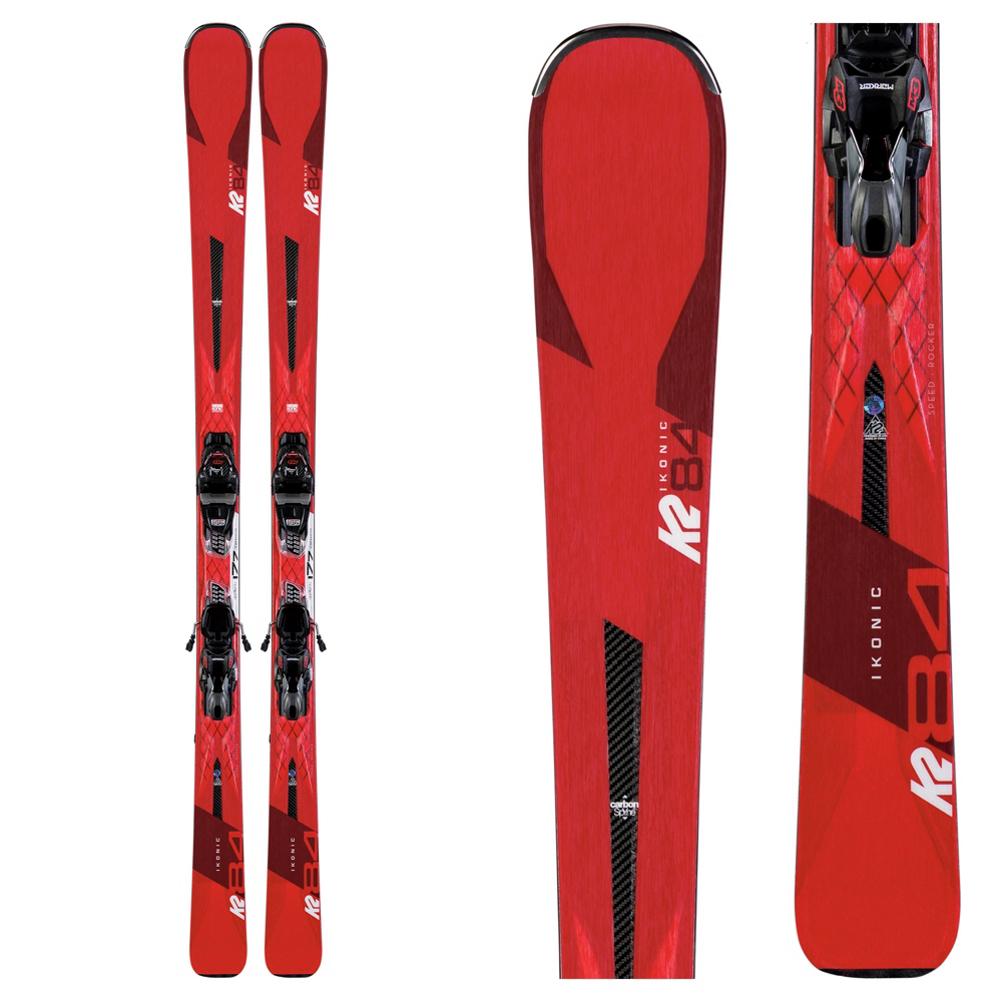 K2 iKonic 84 Skis with M3 12 TCx Light Quikclik Bindings 2020 im test