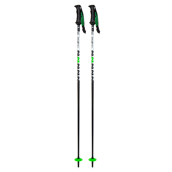 K2 Power Composite Ski Poles, Black, 600