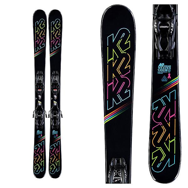 K2 Dreamweaver Kids Skis with FDT Jr 4.5 Bindings, , 600