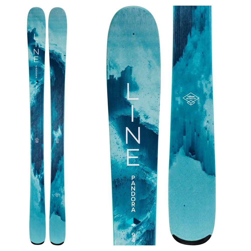 Line Pandora 94 Womens Skis 2020 im test