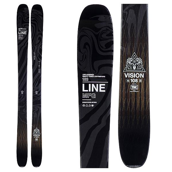 Line Vision 108 Skis 2020, , 600