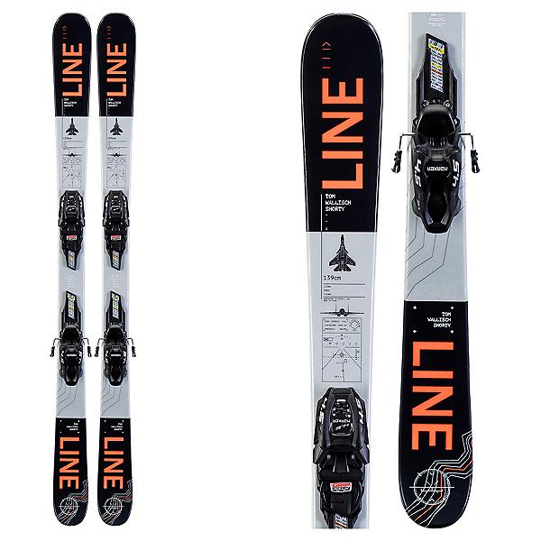 Line Tom Wallisch Shorty Kids Skis with FDT 7.0 Bindings 2020, , 600