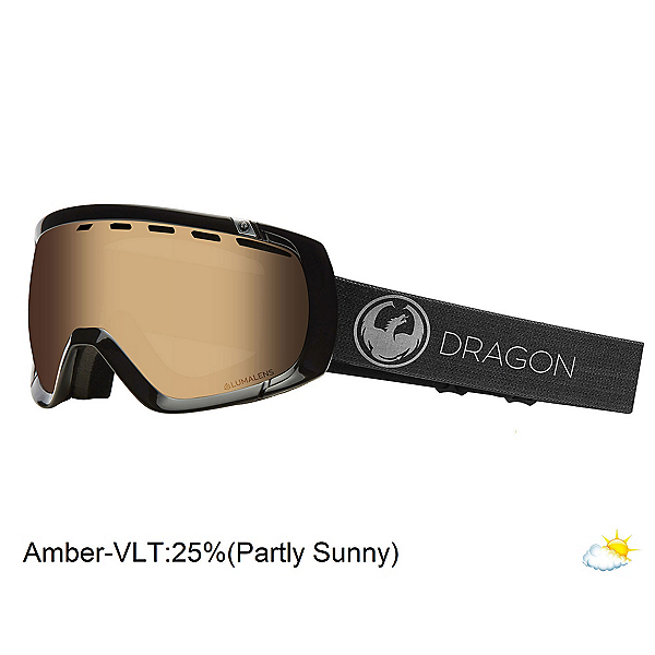 Dragon Rogue Goggles, Echo-Transisitions Amber, 600