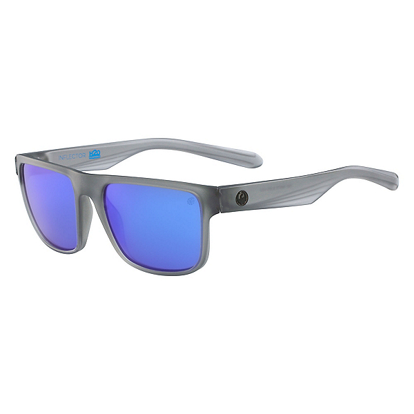 Dragon Inflector H2O Polarized Sunglasses, Matte Crystal Slate, 600