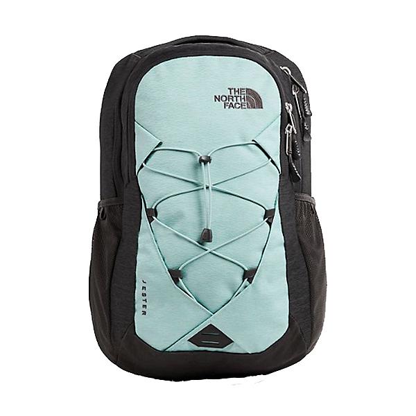 The North Face Jester 20 Women's Backpack, Windmill Blue Splinter-Asphalt, 600